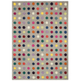 Asiatic Rugs Modern Wool Funk Spotty from Kings Interiors - the ideal place to buy Furniture and Flooring. Call Today - 01158258347.