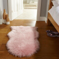 Flair Rugs Faux Fur Pink