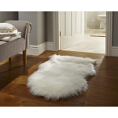 Flair Rugs Faux Fur White from Kings Interiors - the ideal place to buy Furniture and Flooring. Call Today - 01158258347.