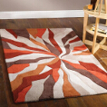 Flair Rugs Infinite Splinter Orange