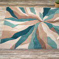 Flair Rugs Infinite Splinter Teal