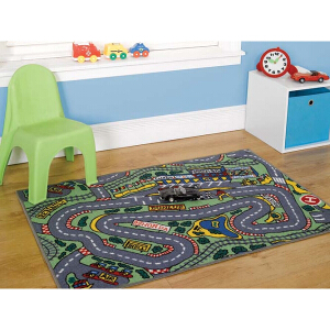 Flair Rugs Matrix Kiddy Formula One