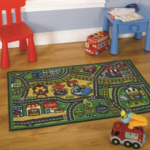 Flair Rugs Matrix Kiddy Happy World