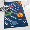 Flair Rugs Matrix Kiddy Planets