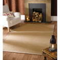 Flair Rugs Natural Fibre Herringbone Natural