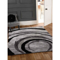 Flair Rugs Grande Vista Droplet Black/Grey