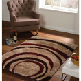 Flair Rugs Grande Vista Droplet Red/Brown