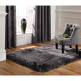 Flair Rugs Pearl Dark Grey