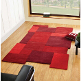Flair Rugs Abstract Collage Red