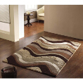 Flair Rugs Botanical Saria Brown/Taupe