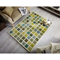 Flair Rugs Illusion Tonal Campari Green/Cream