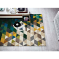 Flair Rugs Illusion Prism Green/Multi