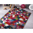 Flair Rugs Illusion Prism Pink/Multi