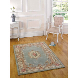 Flair Rugs Lotus Aubusson Green