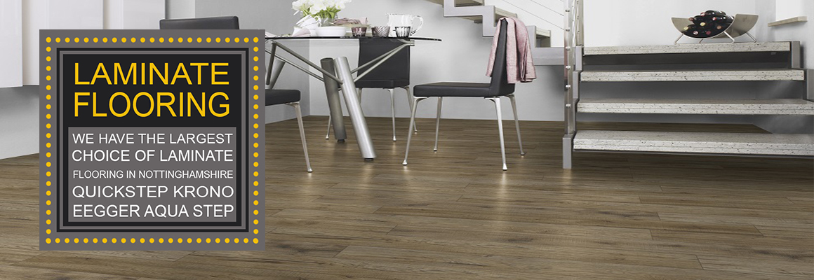 Laminate flooring at Kings of Nottingham 2019